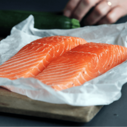 Filet de saumon d'écosse