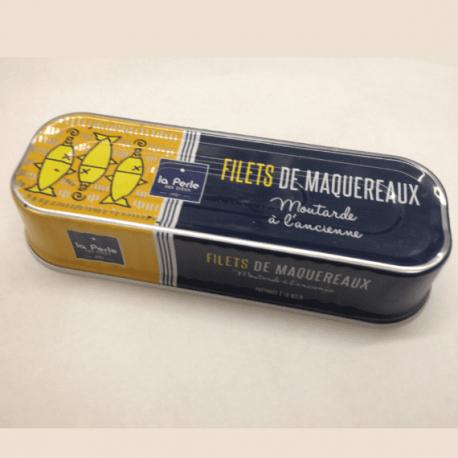 Filets de maquereaux à la moutarde