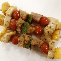 Brochette Saumon-Cabillaud